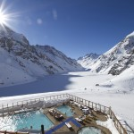skiing pool