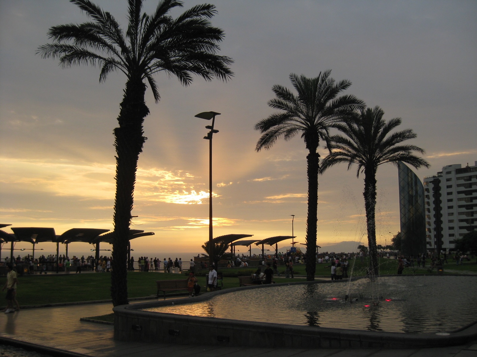 lima sunset city tour peru